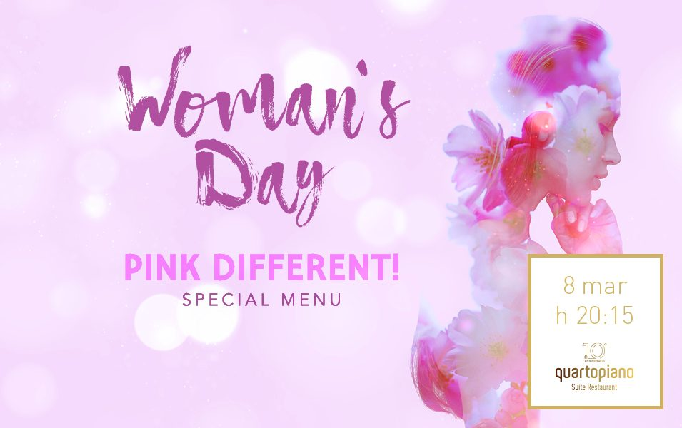 Woman's DAY. Pink different!